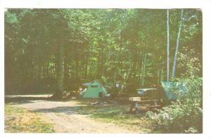Tenting in one of Ontario's lovely Provincial Parks, Ontario, Canada, 40-60s