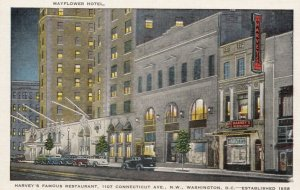 WASHINGTON D.C. , 30-40s; Mayflower Hotel, Harvey's Famous Restaurant