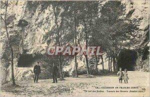 Old Postcard Tour in Franche Comte Col des Roches