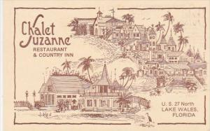 Florida Lake Wales Chalet Juzanne Restaurant & Country Inn 1984