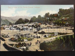 India: CHAKRATA Regiment in Camp on the Parade Ground, Old PC Pub by Moorli Dhur