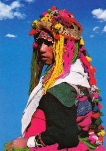 Peru Dancer Of The Festival Fashion Costume Bailarin Del Festival Photo Postcard