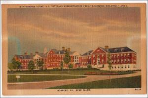 Veterans Administration Facility, Roanoke VA  (discoloration)