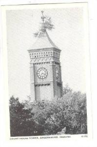 Court House Tower, Greensburg, Indiana, 1910-1920s