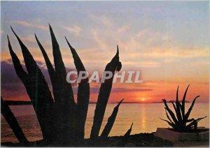 Modern Postcard Sunset