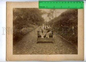 171101 MADEIRA Rickshaw & Gentlemen Vintage RARE REAL PHOTO