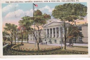 Pennsylvania Philadelphia General Hospital 1923