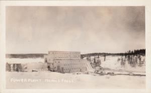 RP: ISLAND FALLS , Sask. , Canada , 1910-30s ; Power Plant