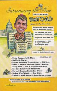 Humour Ronald Reagan Introducing The New V-Toad