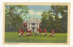 Making Ready For The Hunt, On A Mississippi Estate, 1930-1940s