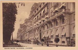 Grand Hotel National, Lucerne, Switzerland, 1900-1910s