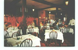 Penn-Daw Restaurant Alexandria Virginia VA Dining Room Vintage Postcard