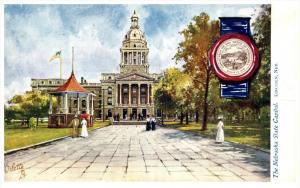 Nebraska Lincoln  , The  Nebraska  State Capitol ,Tuck 2454