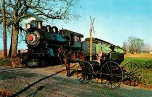 Pennsylvania Strasburg Route 741 The Strasburg Railroad and Amish Horse and B...