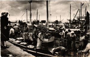 CPA DOUARNENEZ (Finistere) - Deabarquement de la Sardine (252769)
