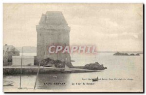 Saint-Servan Old Postcard Tower of Solidor