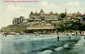 MA - Nantasket Beach. Atlantic House Hotel