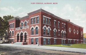 JACKSON, Michigan, 1910-1920s; Elks Temple (Side View)