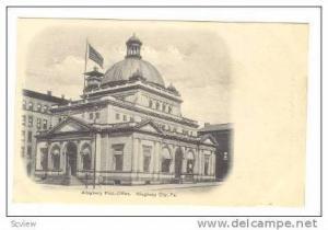 Post Office, Allegheny City, Pennsylvania, pre-1907
