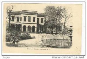 Governors Mansion, Columbia, South Carolina, 1907