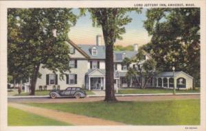 Massachusetts Amhurst Lord Jeffery Inn Curteich