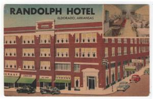 Eldorado, Arkansas, Early Views of The Randolph Hotel