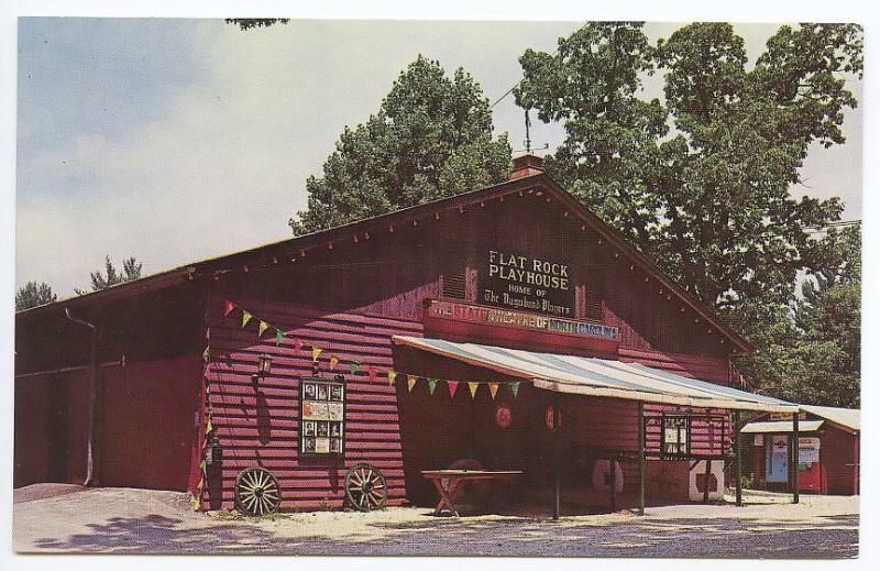 Flat Rock NC Flat Rock Playhouse Coca Cola Pepsi Machines Postcard