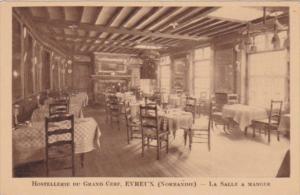 France Evreux Hostellerie Du Grand Cerf La salle A Manger