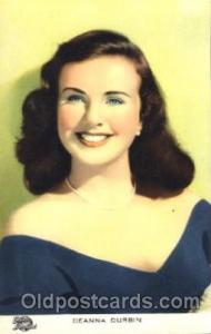 Deanna Durbin Actor, Actress, Movie Star, Postcard Post Card Actor Actress, M...