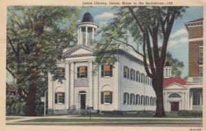 LENOX, Massachusetts, 1944; Lenox Library, in the Berkshires