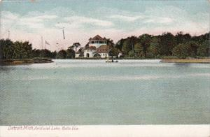 Michigan Detroit Artificial Lake Belle Isle