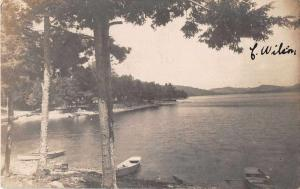 Watervliet New York Scenic View Real Photo Antique Postcard J54448