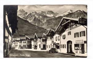 RP; Street Scene, Mittenwald, Tiroler Berge, 1961