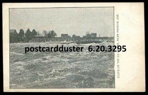 3295 - MASSON Quebec Postcard 1910s Du Lievre River