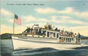 ID, Coeur D'alene, Idaho, Excursion Cruiser Seeweewana, Tichnor No. 75413