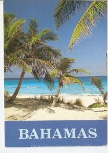 Postal 045748 : Bahamas. Beach