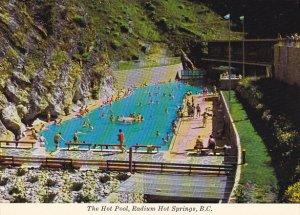 Canada The Hot Pool Radium Hot Springs British Columbia