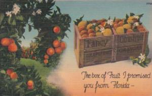 Florida The Box Of Ruit I Promised You From Florida