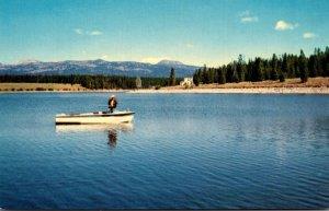 Idaho Island Park Village Fishing On The Island Park Reservoir