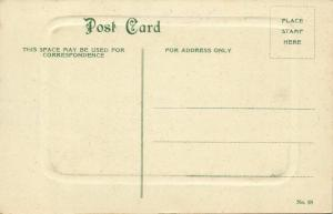 china, PEITAHO, Panorama (1910s) Blue Embossed Postcard No. 18
