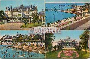 Modern Postcard Souvenir d'Arcachon
