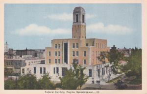REGINA , Saskatchewan , Canada , 1930s ; Federal Building