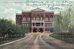 BISMARCK , North Dakota, PU-1907 ; State Capitol