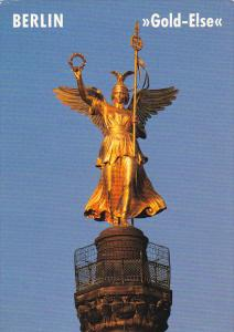 Germany Berlin Die Viktoria im Volksmund Gold Else auf der Siegessaeule