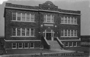 Stella Nebraska~High School~1912 Real Photo Postcard~RPPC