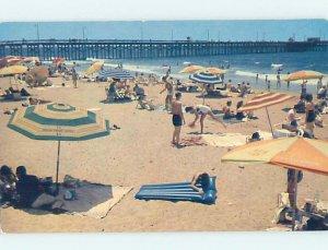 Pre-1980 BEACH SCENE Newport Beach - Los Angeles California CA AE9235