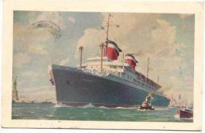 S.S. America, Transatlantic Luxury Liner, United States Lines, 40-60s