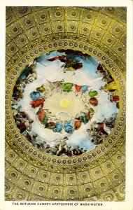 DC - Washington. Capitol Building, Rotunda Canopy