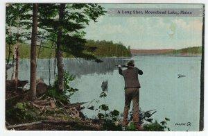 Moosehead Lake, Maine, A Long Shot