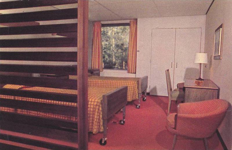 Typical patient's room, Shouldice Hospital, Thornhill, Ontario,  Canada, 40-60s